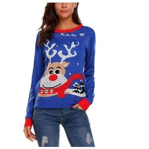 Sweaters - Women's Ugly Christmas Sweater Long Sleeve